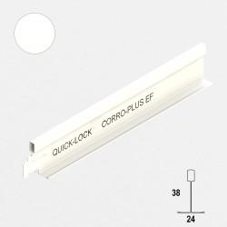QUICK-LOCK Profil poprz. T24 L0,6 m antykorozyjny