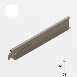 QUICK-LOCK profil poprzeczny 1200mm RAL 9005 czarny