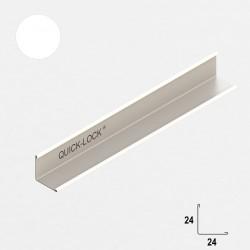 QUICK-LOCK profil przyścienny 19x24mm RAL 9005 czarny