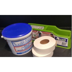 tape buddy, joint compound i 2x papier do spoinowania